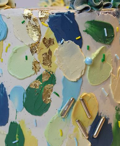 Portfolio taart bladeren Cakeswithcurves